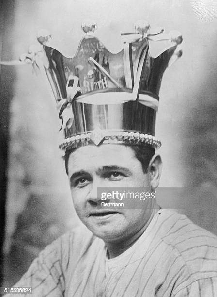 Babe Ruth crowned Sultan of Swat by New York fans after last game of the World Series The crown properly engraved was purchased by his admirers