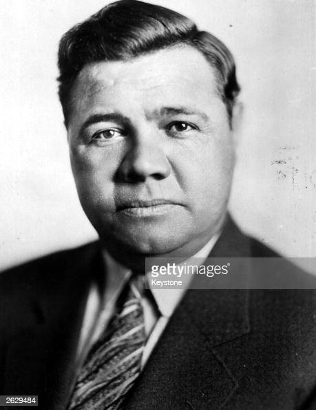 Babe Ruth the King of America's favourite sport baseball