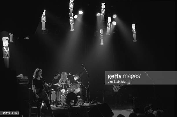 Babes in Toyland Maureen Herman Lori Barbero Kat Bjelland performs at First Avenue nightclub in Minneapolis Minnesota on December 22 1994