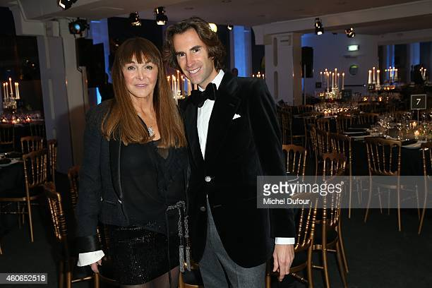 Babeth Djian and Pierre Pelegri attend the Annual Charity Dinner Hosted By The AEM Association Children Of The World For Rwanda At Espace Pierre...