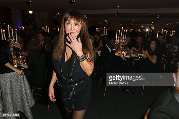Babeth Djian attends the Annual Charity Dinner Hosted By The AEM Association Children Of The World For Rwanda on December 17 2013 in Paris France