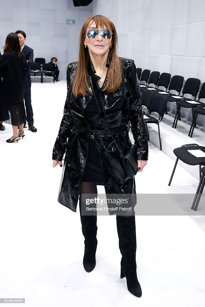 Balenciaga : Front Row  - Paris Fashion Week Womenswear Fall/Winter 2016/2017