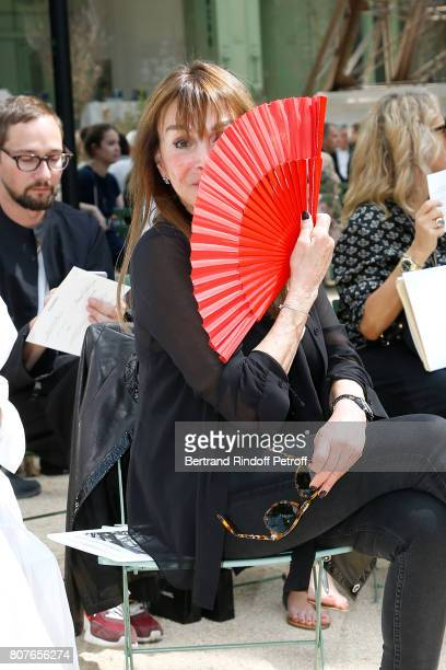 Babeth Djian attends the Chanel Haute Couture Fall/Winter 20172018 show as part of Haute Couture Paris Fashion Week on July 4 2017 in Paris France
