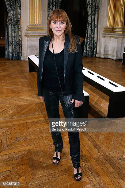Babeth Djian attends the Lanvin show as part of the Paris Fashion Week Womenswear Spring/Summer 2017 Held at Paris City Hall on September 28 2016 in...