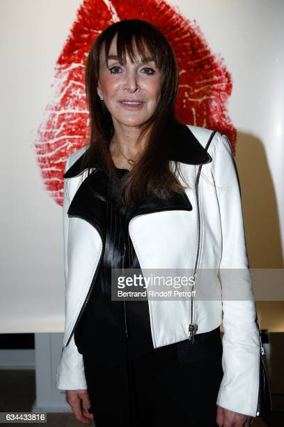 Babeth Djian attends the Launching of the Book 'Mocafico Numero' at Studio des Acacias on February 9 2017 in Paris France