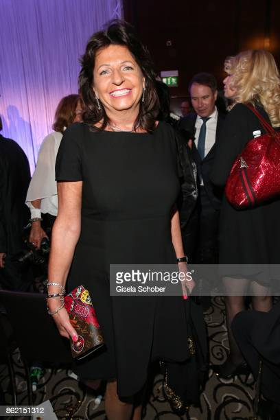 Babette Albrecht widow of Berthold Albrecht Aldi during the 2oth 'Busche Gala' at The Charles Hotel on October 16 2017 in Munich Germany