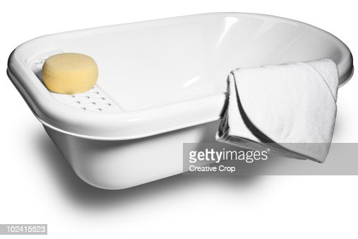 baby bathtub stock photos and pictures getty images. Black Bedroom Furniture Sets. Home Design Ideas