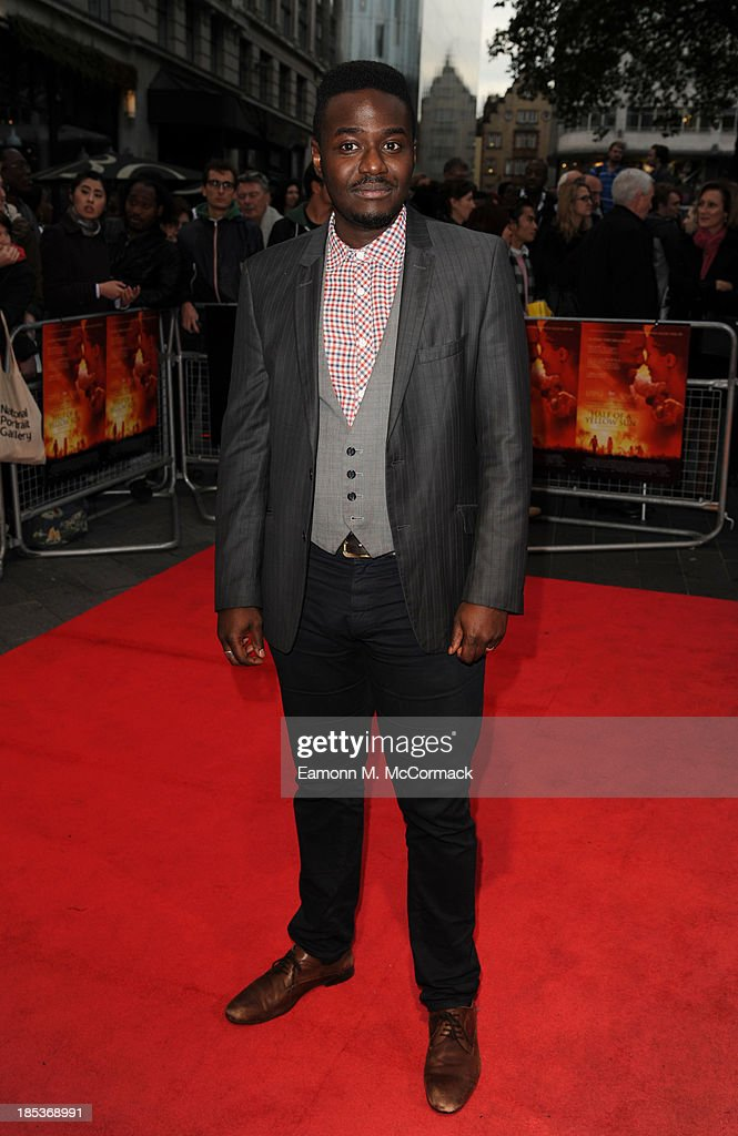 Babou Ceesay attends a screening of 'Half of a Yellow Sun' during the 57th BFI London Film Festival at Odeon West End on October 19, 2013 in London, England.