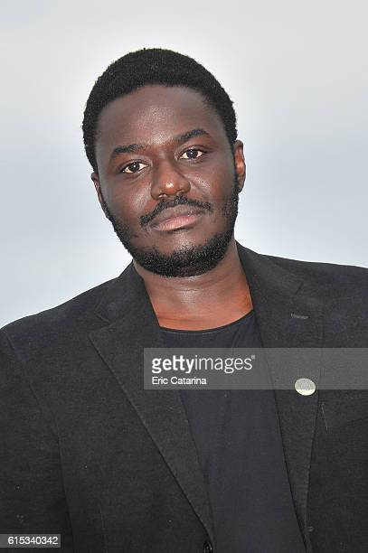 Babou Ceesay attends the Guerilla photocall during MIPCOM 2016 at Palais des Festivals on October 17 2016 in Cannes France