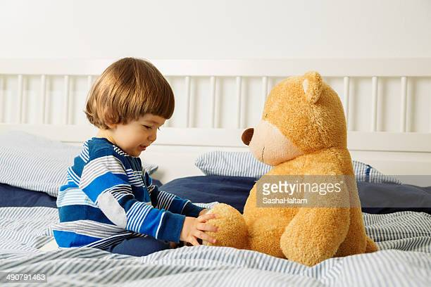 Baby and his Teddy Bear