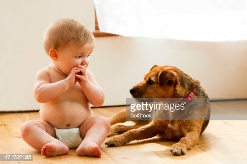 Baby and Pet Dog