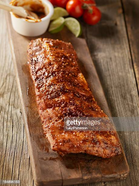 Baby Back Pork Ribs with Sauce