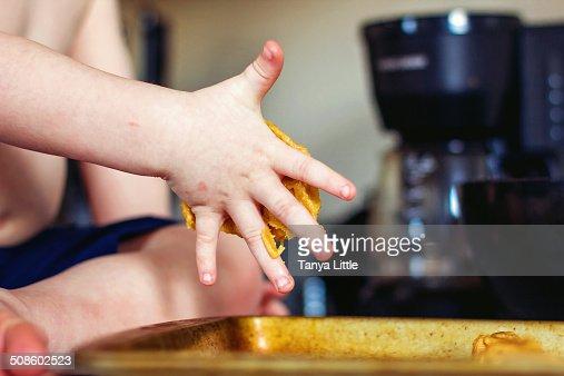 Baby Baker : Foto de stock