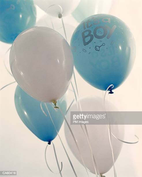 Baby balloons saying 'It's A Boy'