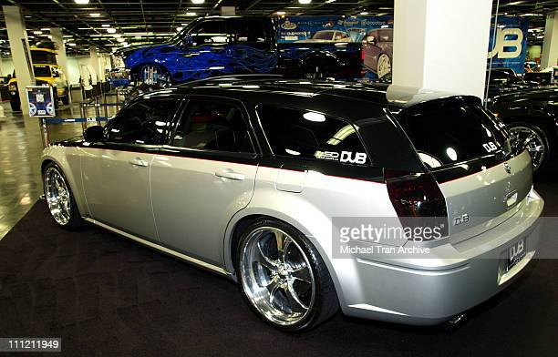 Baby Bash's DUB Edition Dodge Magnum SRT8 during California International Auto Show at Anaheim Convention Center October 5 2005 at Anaheim Convention...