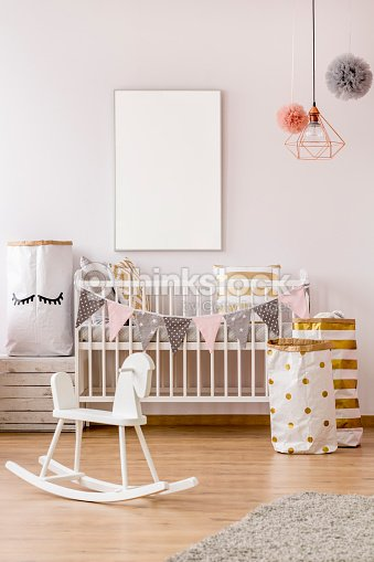 Baby Schlafzimmer Im Skandinavischen Stil Stock-Foto | Thinkstock