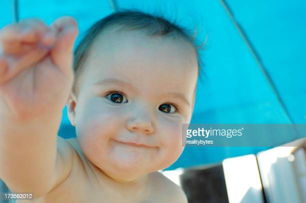 Baby Blue Umbrella
