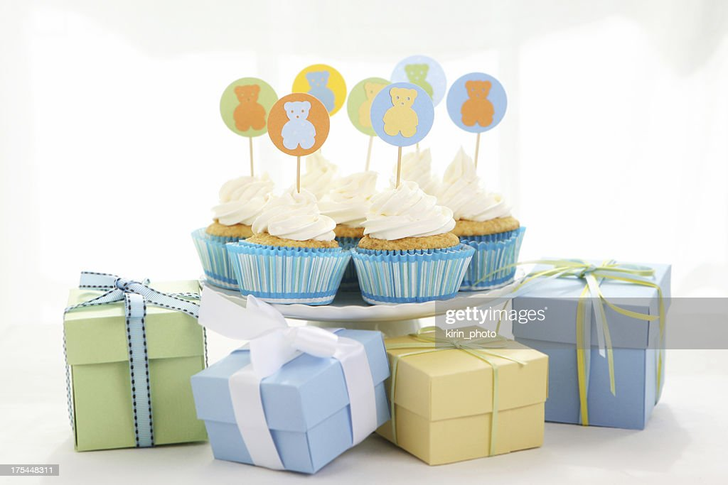 baby boy party : Stock Photo