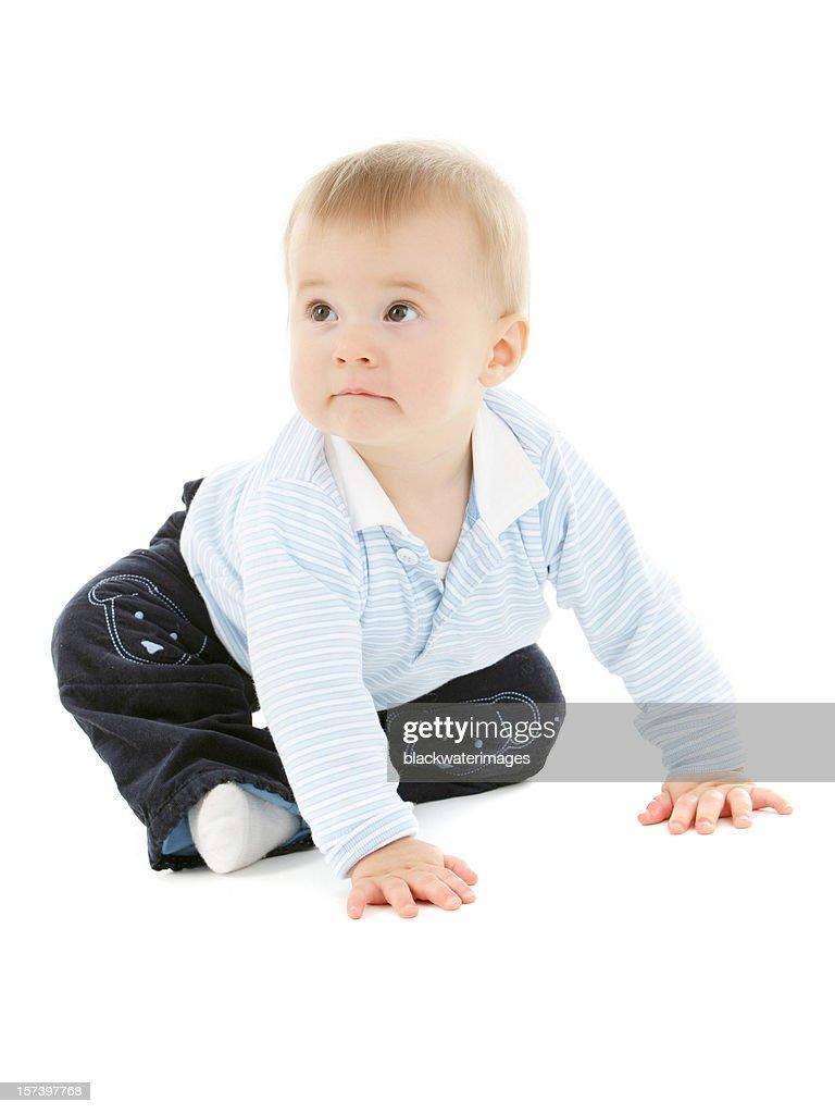 Baby boy. : Stock Photo