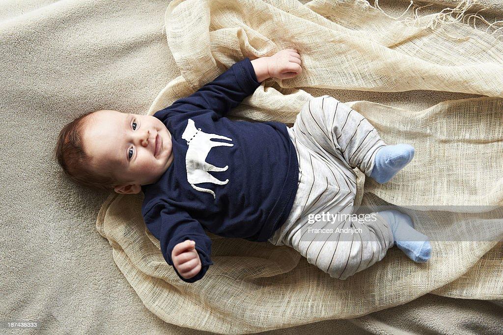Baby Boy : Stock Photo