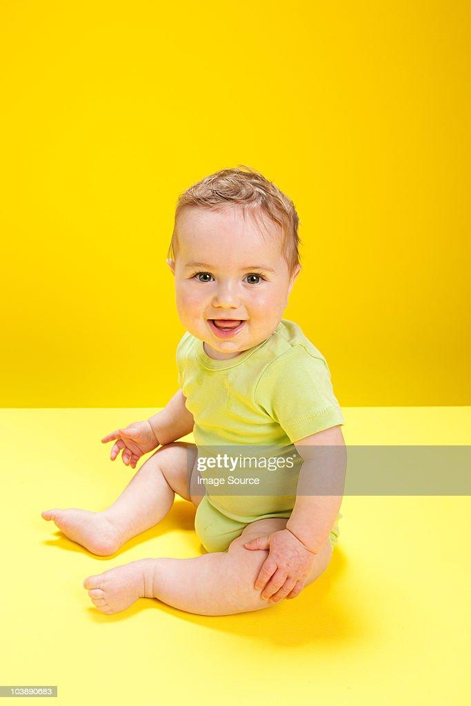 Baby boy, portrait : Stock Photo