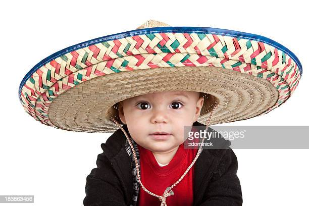 Baby Boy Wearing Sombrero