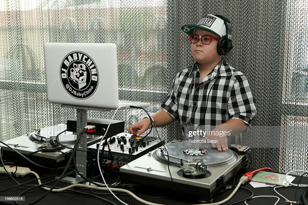 DJ Baby Chino spins at GBK Musical Lounge With Invited Nominees And Presenters Of The American Music Awards at Andaz on November 16, 2012 in West Hollywood, California.