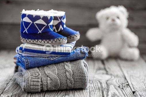Baby clothes : Stock Photo
