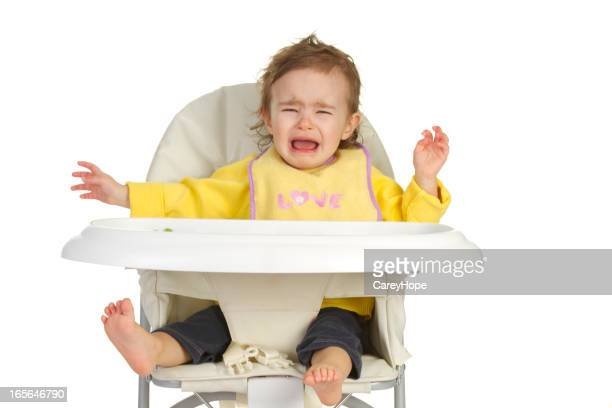baby crying in high