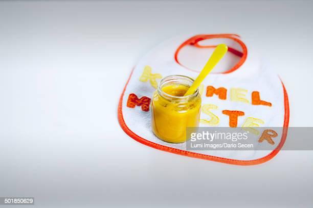Baby Food And Baby Bib, Munich, Bavaria, Germany