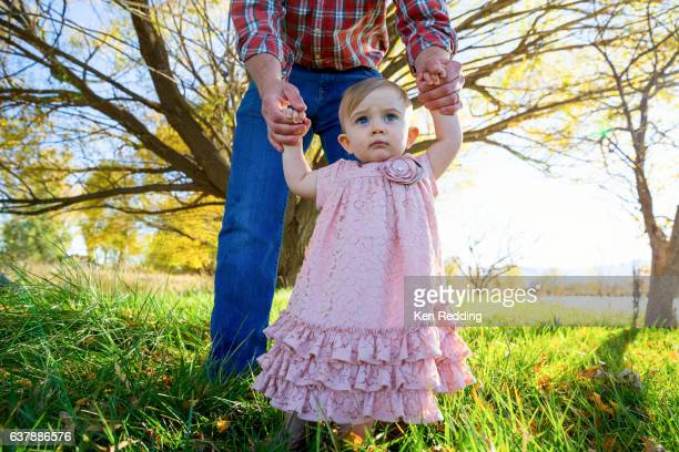 A baby girl and her Daddy