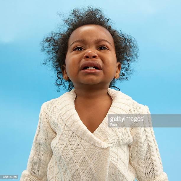 Baby Girl Having Tantrum