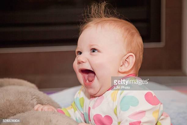 A Baby Girl Laughing  Spruce Grove Alberta Canada 9c5b0eb98d4ba
