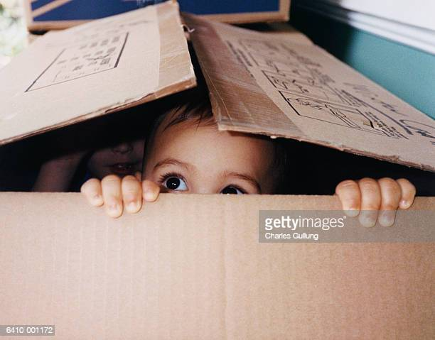 Baby Hiding in Box