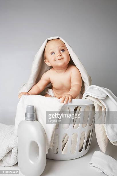 赤ちゃんのランドリー