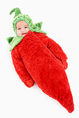 Baby in pepper costume