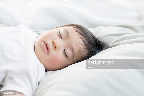 Baby is sleeping