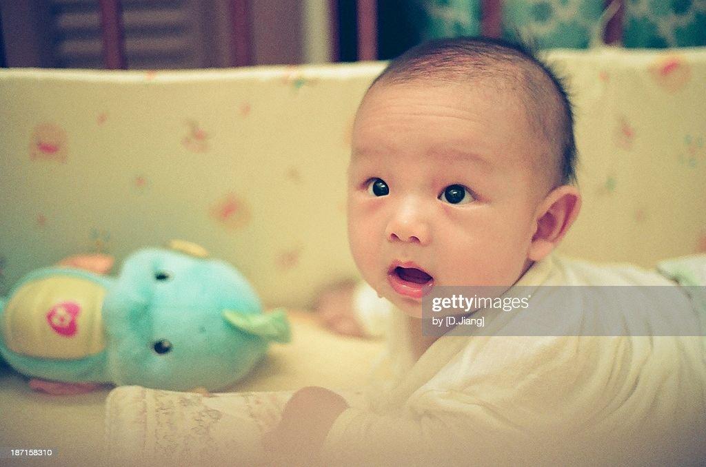 Baby portrait : Stock Photo
