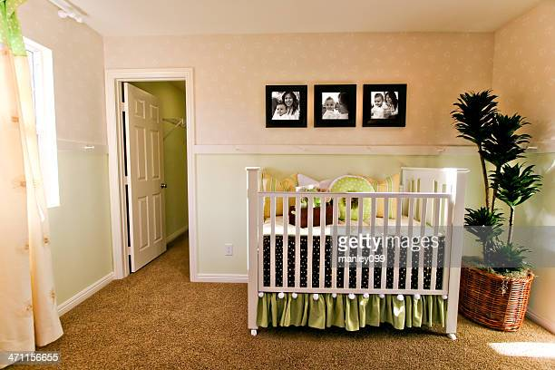 baby room and crib