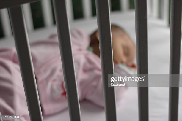 Baby Safely Asleep in Crib