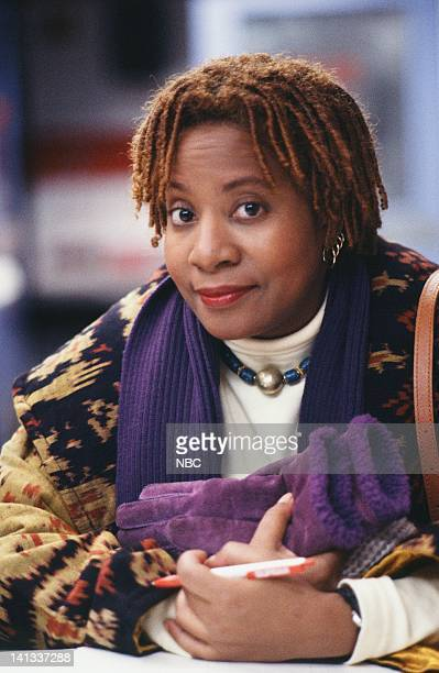 ER 'Baby Shower' Episode 15 Air Date Pictured Conni Marie Brazelton as Nurse Connie Oligario Photo by Alice S Hall/NBCU Photo Bank