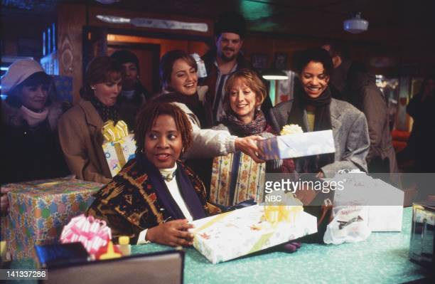 ER 'Baby Shower' Episode 15 Air Date Pictured Vanessa Marquez as Nurse Wendy Goldman Laura Innes as Doctor Kerry Weaver Conni Marie Brazelton as...