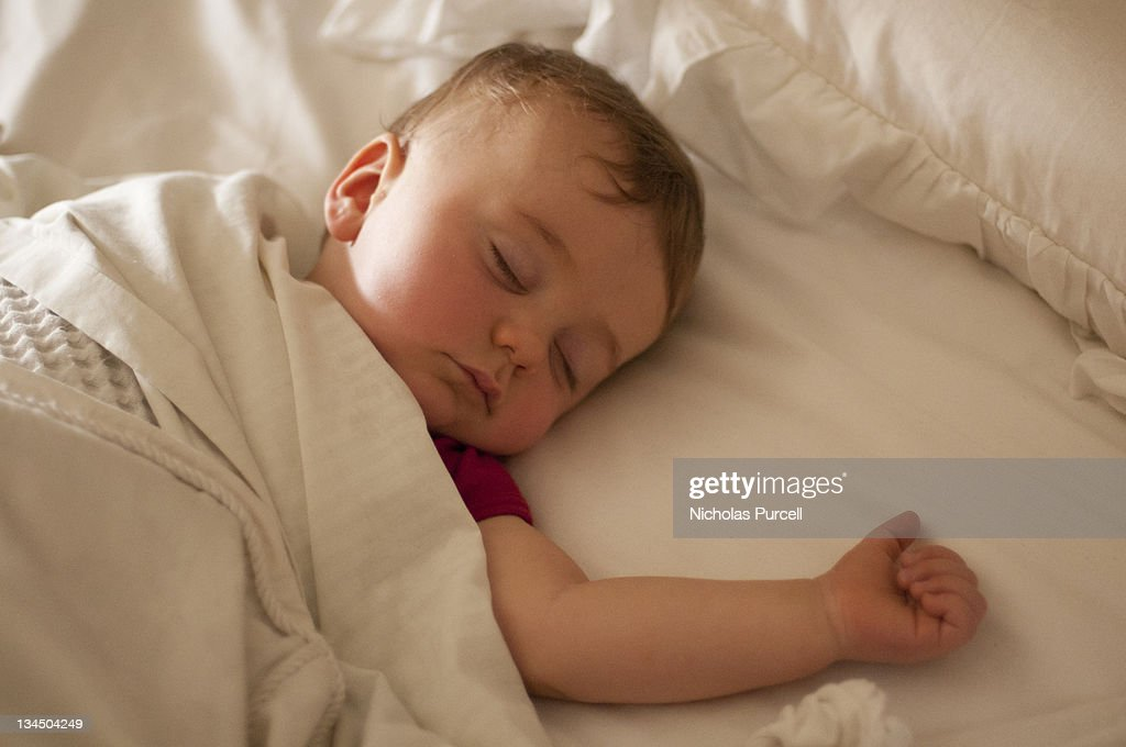 Baby sleeping : Stock Photo