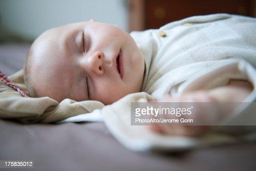 Baby sleeping : Stock Photo