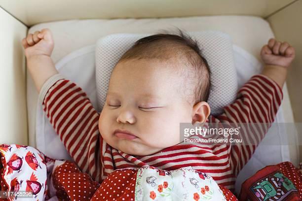Baby sleeping, portrait