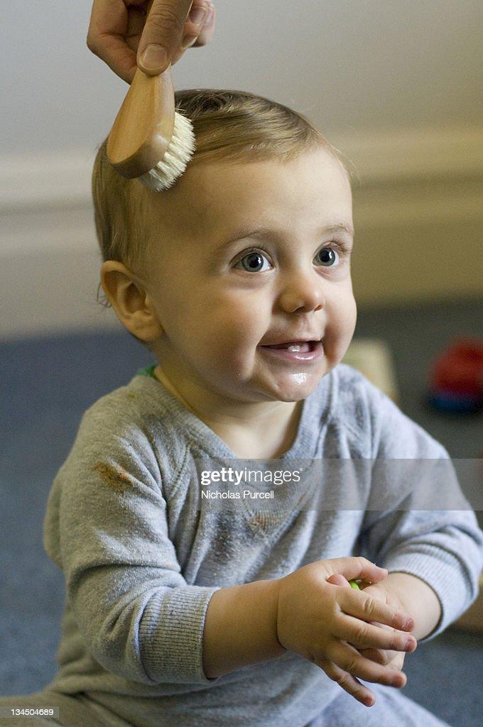 Baby smile : Stock Photo