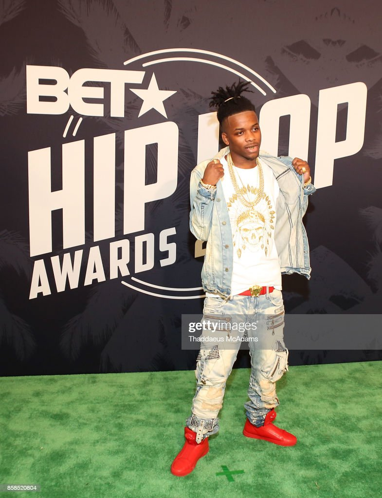 Baby Soldier attends BET Hip Hop Awards 2017 on October 6, 2017 in Miami Beach, Florida.