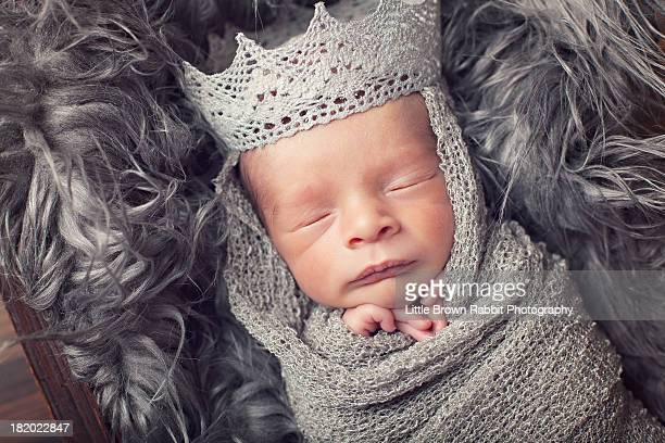 Baby with a Silver Crown