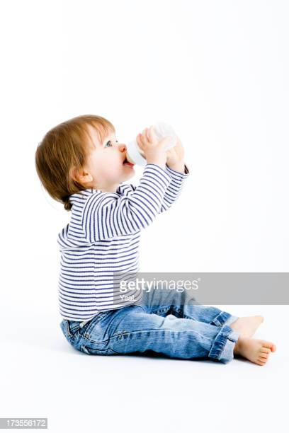 Baby with milk bottle( XL)