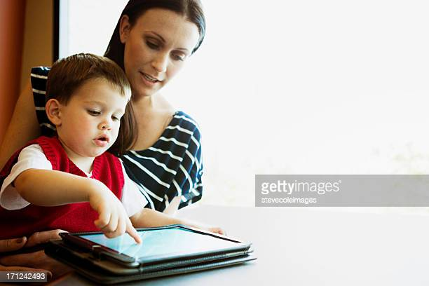 Baby with Technology